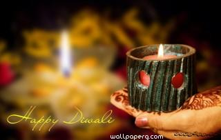 Happy diwali with joy of