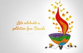 Pollution free diwali quote