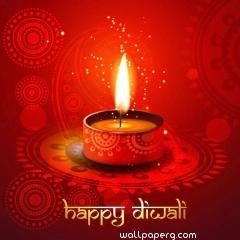 Happy diwali deepak wallpaper