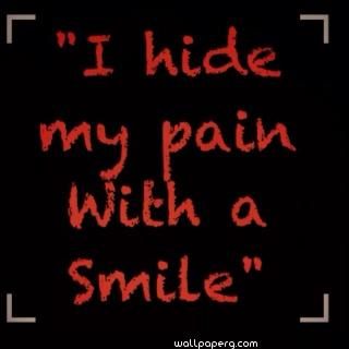 Sad quotes about pain and