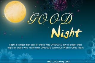 Good night dreams hd whatsapp image