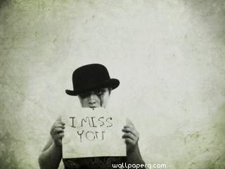 I miss you with tears ,wallpapers,images,