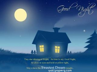 Good night hd wallpaper ,wide,wallpapers,images,pictute,photos