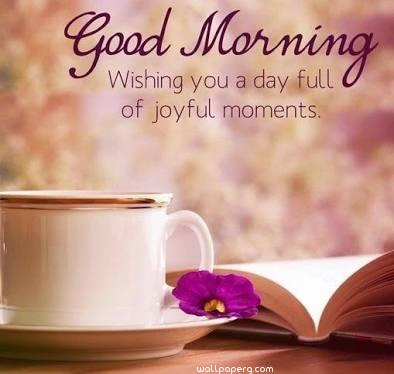 Good morning joyfull wallpaper