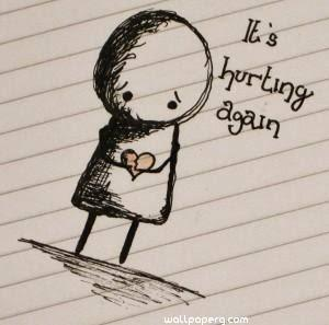 Its hurting again hurt qu