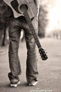 I love to carry my guitar