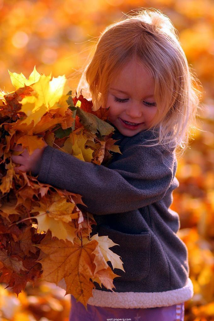 Lets collect the leaves at the time of autumn