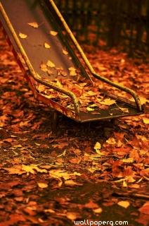 Swing and autumn ,wide,wallpapers,images,pictute,photos