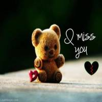 I miss you teddy image