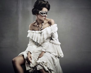 Woman with mask ,wallpapers,images,