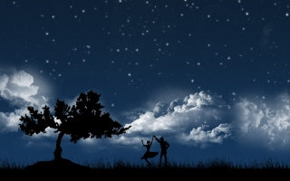 Dancing in moonlight ,wide,wallpapers,images,pictute,photos