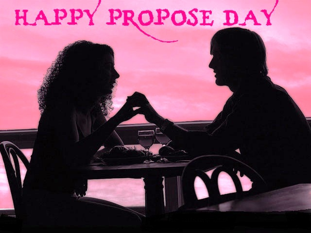 Romantic date on propose day