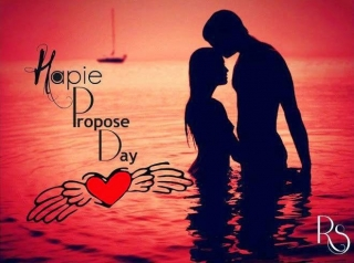 Love propose day image