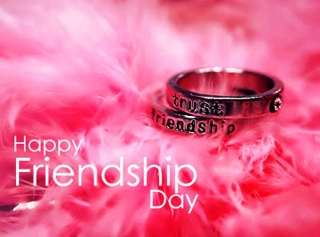 Friendship day bond of trust