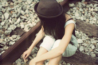 Sad girl with style dp ,wide,wallpapers,images,pictute,photos