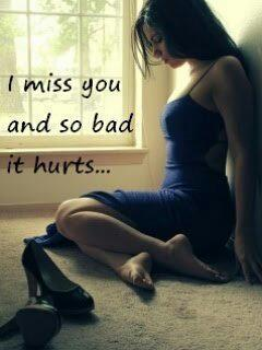 Girl i miss u so hurting me dp