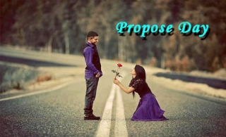 Girl propose a boy