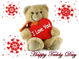 Happy teddy day 2016 quote pic ,wide,wallpapers,images,pictute,photos