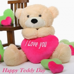 Teddy day love quote sms