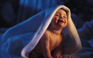 Baby blanket smiling white awesome wallpaper