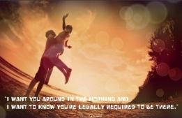 I want you around in the morning ,wide,wallpapers,images,pictute,photos