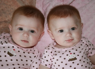 Twin girls baby hd wallpa