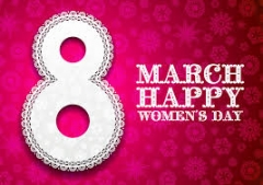 8 march womens day quote image