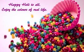 Happy holi wallpaper for desktop