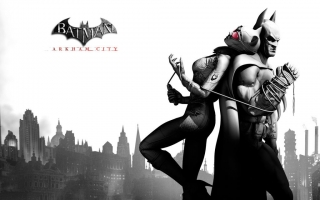 Batman arkham city widescreen hd wallpaper