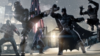 Batman arkham origins game