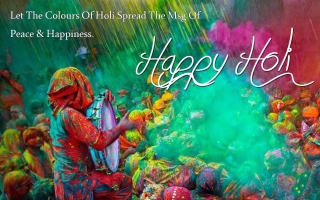 Holi message of happiness quote ,wallpapers,images,