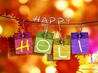 Happy holi indian friends
