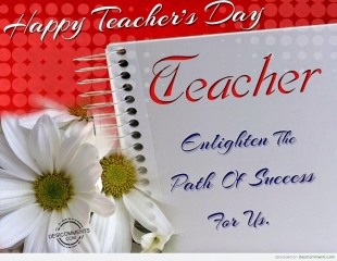 Happy teachers day quote