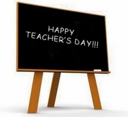 Happy teachers day backgr