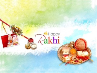 Happy rakhi wallpaper