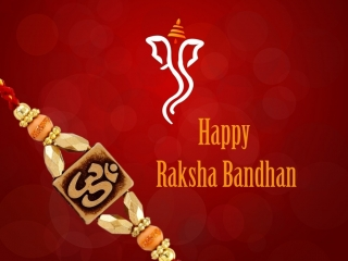 Happy raksha bandhan innovative rakhi