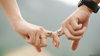 Hands love couple family photo free