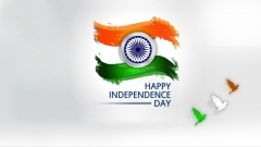 Simple wallpaper for independence day ,wide,wallpapers,images,pictute,photos