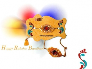 Shree raksha bandhan hd wallpaper for wishing