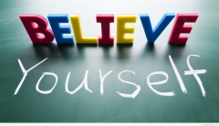 Believe yourself motivati