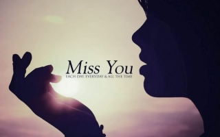 Miss you hd wallpaper for