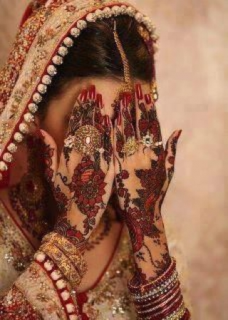 Indian bridal profile pic