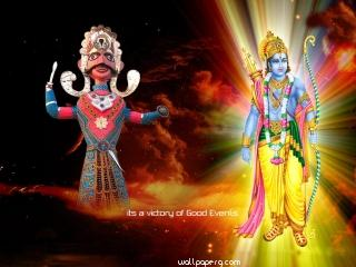 Dussehra hd wallpaper for wishing