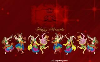 Navratri special celebration hd wallpaper
