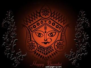 Navratri special hd wallpaper for mobile