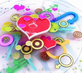 3d animated hearts for mo