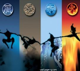 4 elements hd wallpaper f