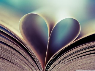 Book heart wallpaper ,hd wallpapers,images