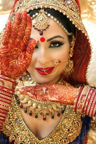 Best bridal look for wome