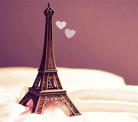 Cute eiffel tower hd wallpaper
